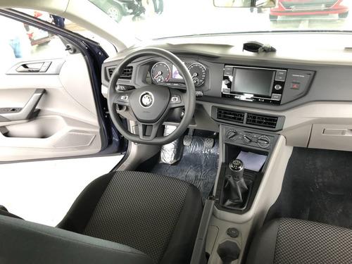 volkswagen polo 1.6 confort autom.my19 ant. y cuotas 0%.mz