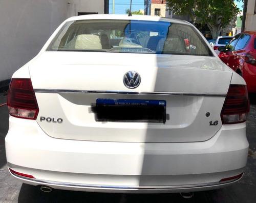 volkswagen polo 1.6 modelo 2019 0km, solo 48 km rodados