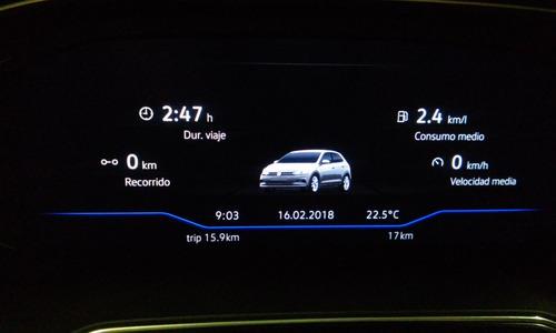 volkswagen polo 1.6 msi highline 16v 110cv 2018 cm.