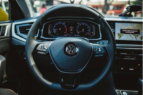 volkswagen polo 1.6 msi highline aut 2020 vw blanco financio