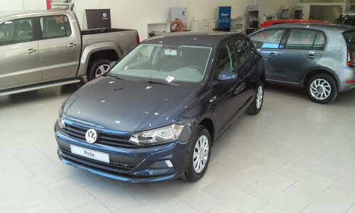 volkswagen polo 1.6 msi trendline at fisico - azul- mg
