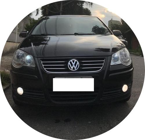 volkswagen polo 1.6 preto 5 portas completo ótimo estado