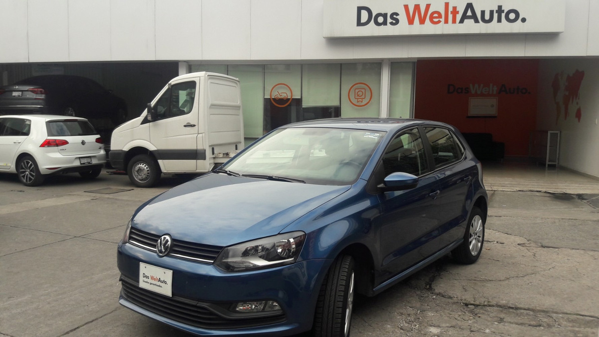 volkswagen polo 1.6 std 2018 azul seda. Cargando zoom. f32bf0b486853