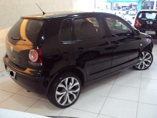 volkswagen polo 1.6 total flex ano 2009 completo couro/rodas