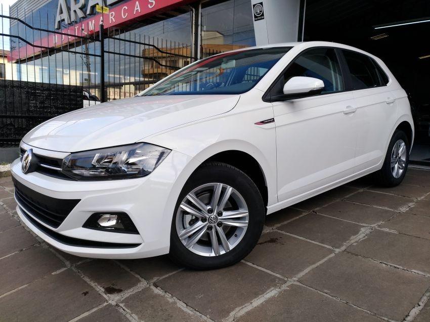 4c2417a479 Volkswagen Polo 200 Tsi Comfortline 2019 Branco Flex - R  65.990 em ...
