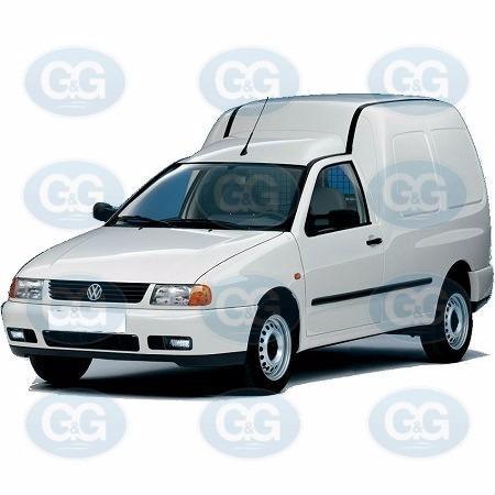 volkswagen polo / caddy radiador calefacción