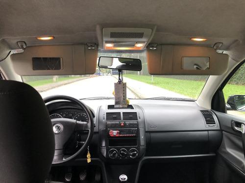 volkswagen polo hatch 1.6 flex 2008/2009 5p preto