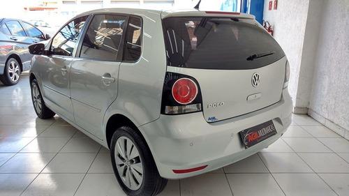 volkswagen polo hatch 1.6 único dono 2014 prata