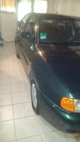 volkswagen polo motor 1.9 1999 verde oscuro 4 puertas