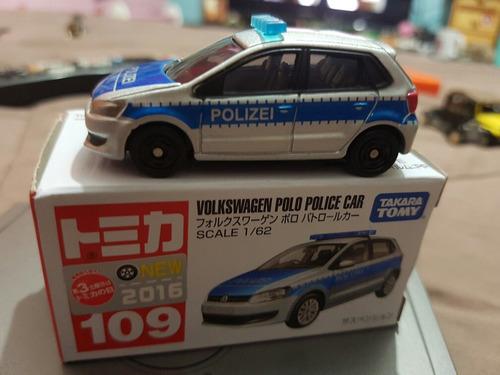 volkswagen polo police esc 1 64