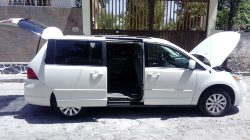 volkswagen routan 2009 3.7 prestige at