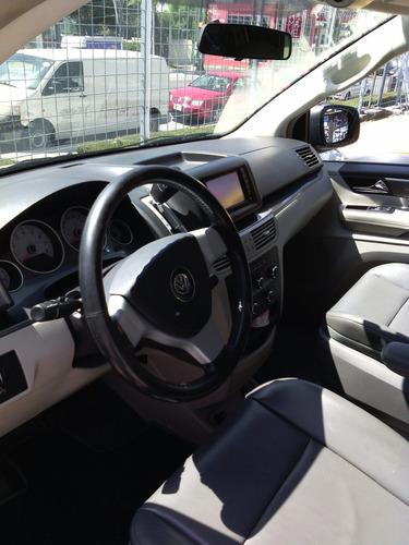 volkswagen routan modelo 2009, blanco