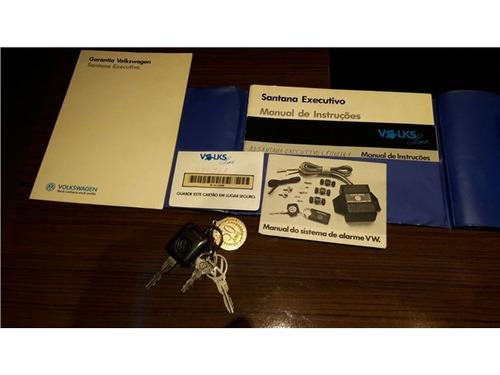 volkswagen santana 2.0 cl 8v gasolina 4p manual