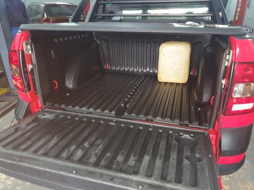 volkswagen saveiro 1.6 16v cross cab. dupla total flex 2p