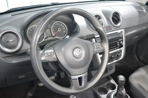 volkswagen saveiro 1.6 cab ext pack high m/t 2014 imolaautos