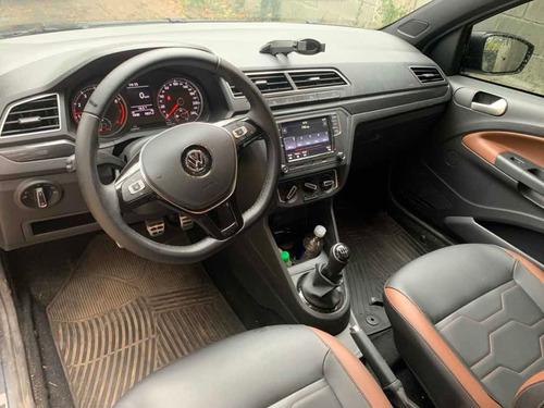 volkswagen saveiro 1.6 cross 2020 tapizado cuero - unica