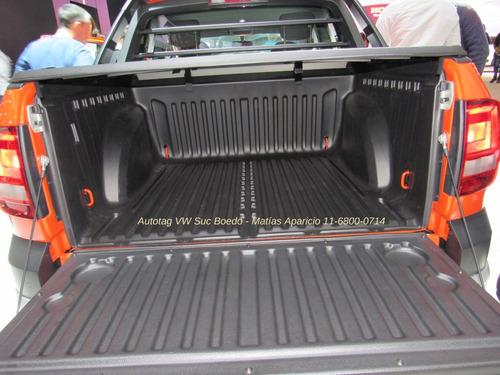 volkswagen saveiro 1.6 cross gp cd 110cv pack high #a2