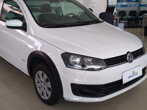 volkswagen saveiro 1.6 cs 2014 branca flex