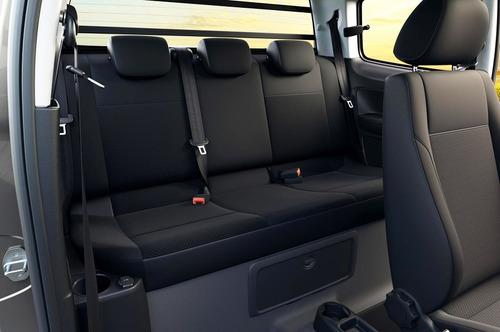volkswagen saveiro 1.6 gp cab ext pack eléc + seg + high #a7