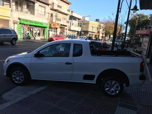 volkswagen saveiro 1,6 gp cab exten pack eléctrico año 2013