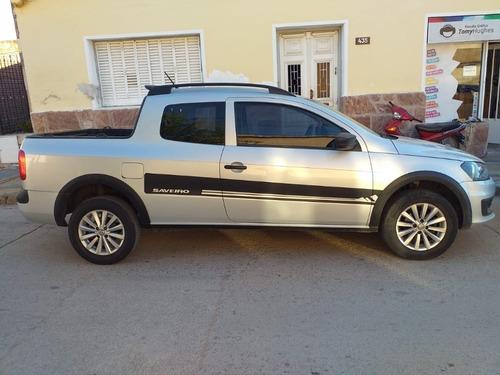 volkswagen saveiro 1.6 gp cd 101cv pack high con gnc 5ta