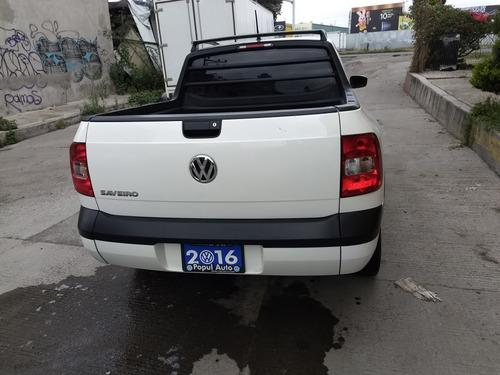 volkswagen saveiro 1.6 highline pmet mt 2016