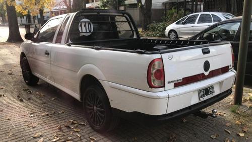 volkswagen saveiro 1.6   permuto pedyautos