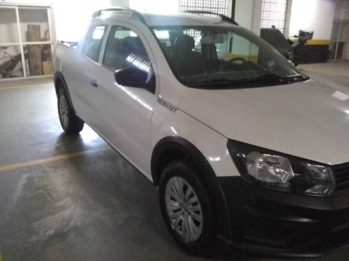 volkswagen saveiro 1.6 robust cab. dupla total flex 2p 2019