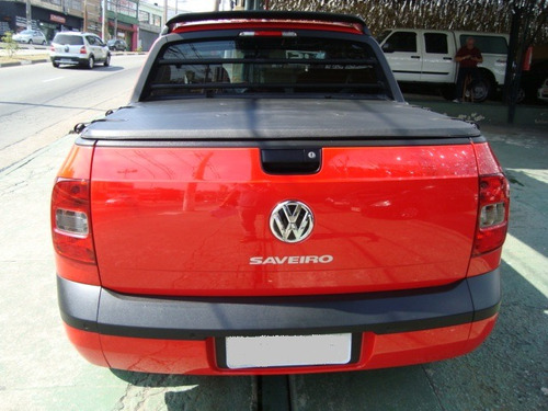volkswagen saveiro 1.6 rock in rio cab. dupla total flex 2p