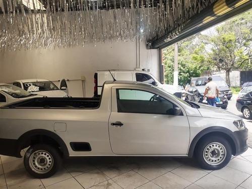 volkswagen saveiro 1.6 startline cs flex completo 2015
