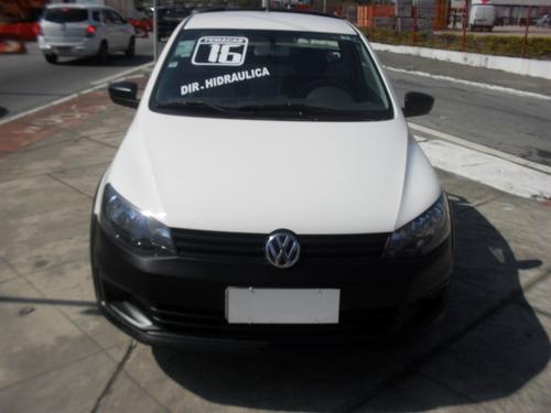 volkswagen saveiro 1.6 startline direção hidraulic flex 2016
