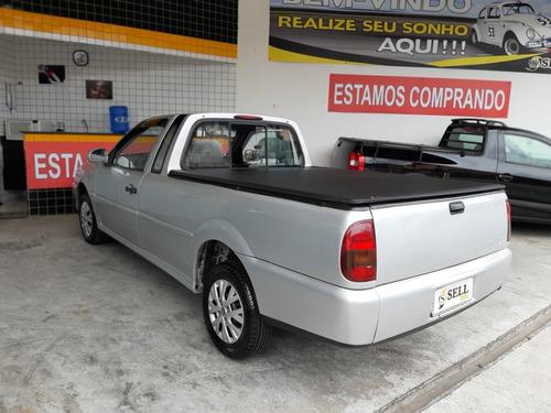 volkswagen saveiro 1.8 mi gl 2p 1999