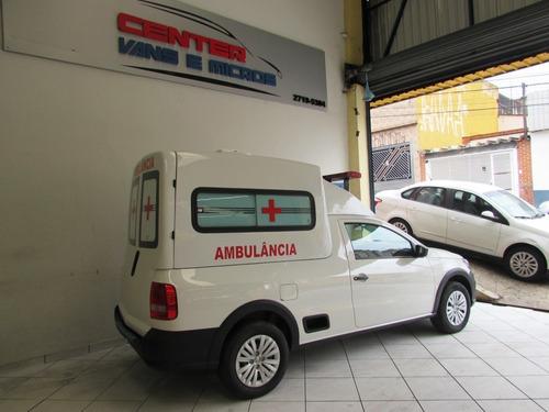 volkswagen saveiro ambulância 2020