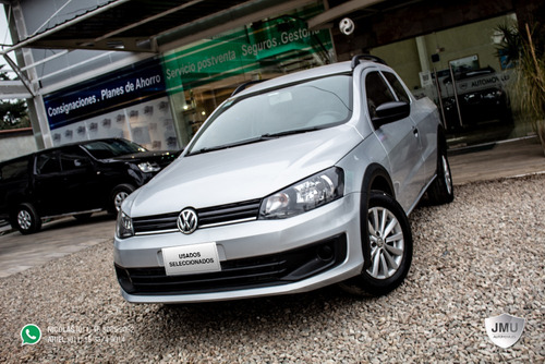 volkswagen saveiro c-doble power l-15 nafta 2015 plata