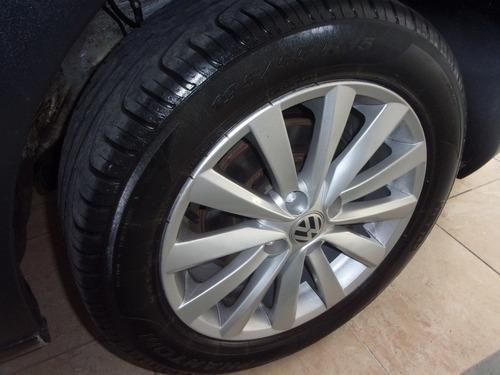 volkswagen saveiro cabina extendida 2014 gris plata