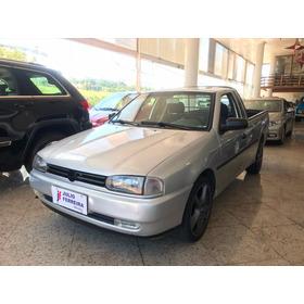 Volkswagen Saveiro Cl 1.6 Cs Gasolina Prata