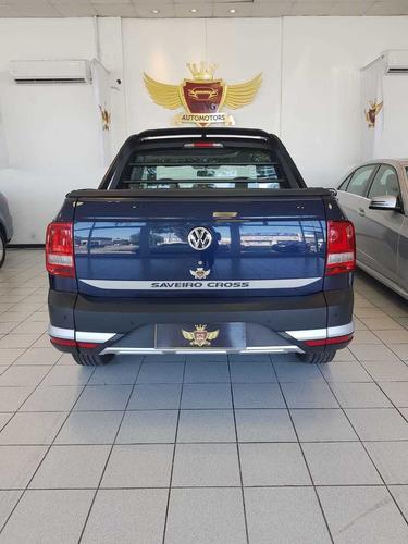 volkswagen saveiro cross 1.6 azul 2020 0km !!!