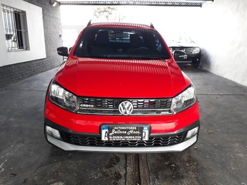 volkswagen saveiro cross 1.6 gp  cd pack high año 2017