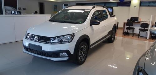 volkswagen saveiro cross cabine dupla 2019 branco flex