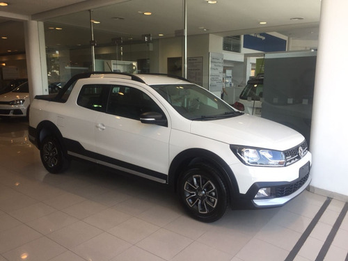 volkswagen saveiro cross gp 1.6 c/d + pack high 0km my18