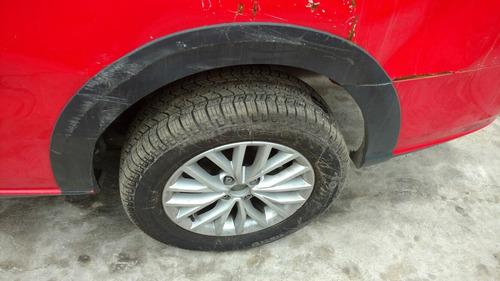 volkswagen saveiro doble cabina 2017 accidentado x partes