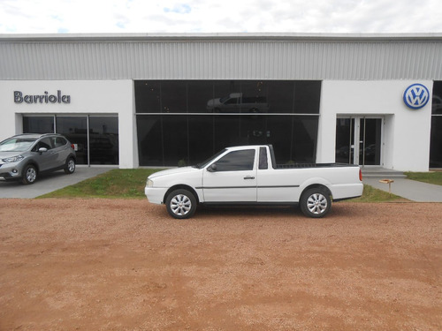 volkswagen saveiro pick up 1.6 nafta año 99. sana. barriola