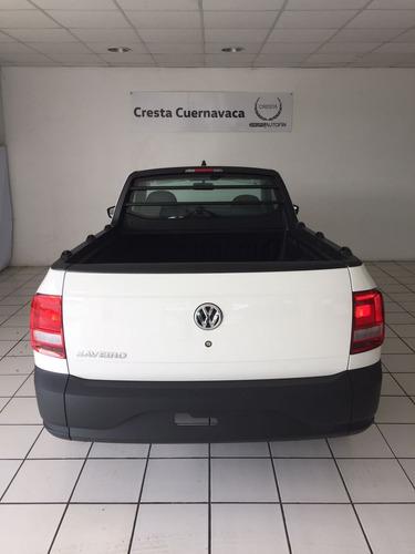 volkswagen saveiro std a/a 2018 cresta cuernavaca