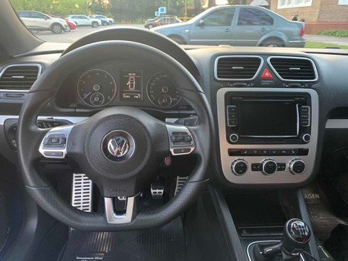 volkswagen scirocco 2.0 tsi 211cv c/techo panoramico 2014
