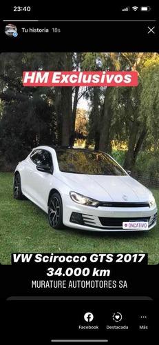 volkswagen scirocco 2.0 tsi 211cv dsg 2017