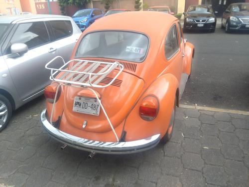 volkswagen sedan placas antiguo