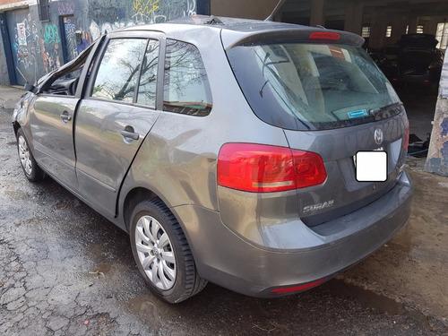 volkswagen suran 1.6 gnc año 2013 chocado