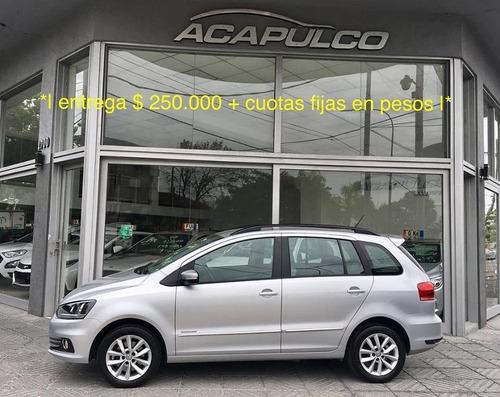 volkswagen suran 1.6 imotion highline / 450000 + cuotas /