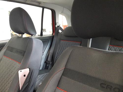volkswagen suran cross 2018 - vw 0km 4 puertas rojo