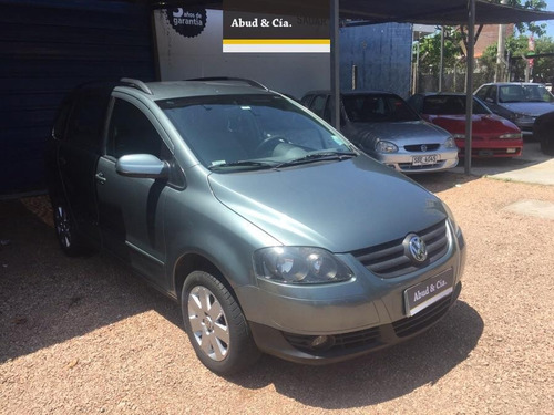 volkswagen suran highline 1.6 2009 impecable!